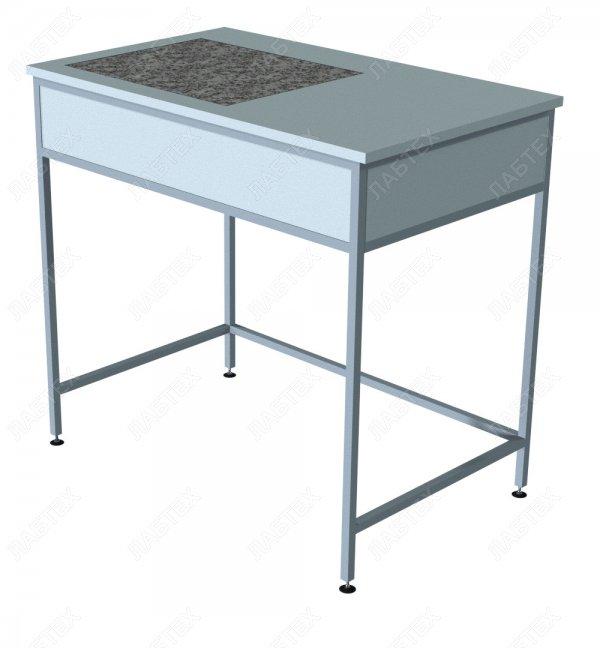 Стол для весов ЛАБТЕХ-СВ-2 ЛГ, гранит, 1000*610*900