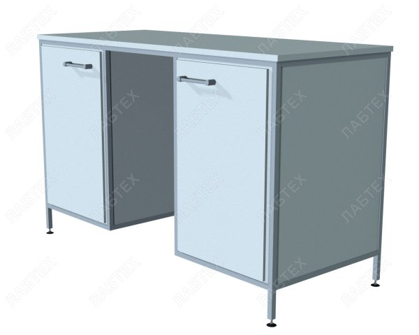 Стол лабораторный ЛАБТЕХ-С-21-ПВ комбинированный, 1470*610*900