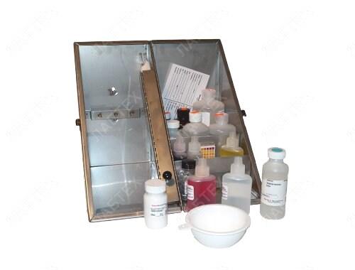 Набор для анализа содержания хлоридов, щелочности и жесткости воды, Fann, 209808