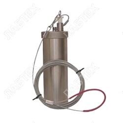 Пробоотборник для нефтепродуктов ПЭ-1620 (трос 5м с заземлением), 0,25л / пробоотбор по ГОСТ 2517
