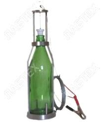 Пробоотборник для нефтепродуктов ПЭ-1650 (трос 5м с заземлением), 0,75л / пробоотбор по ГОСТ 2517