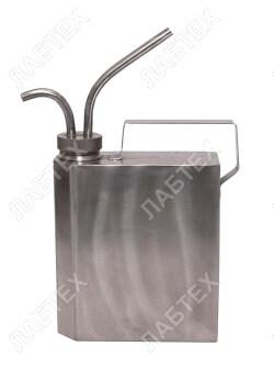 Пробоотборник для нефтепродуктов с переливным устройством ППУ-1756, 1л / пробоотбор по ГОСТ 2517