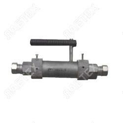 Пробоотборник для газовПУ-50 (5,0 МПа; + 2 вентиля), 60см3 / пробоотбор по ГОСТ 14921