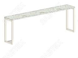 Надстройка для стола ЛАБТЕХ-М-2 (ЭК-2) 1450*300*500