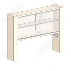 Надстройка для стола ЛАБТЕХ-ШН-1 (НС-1) 975*250*800
