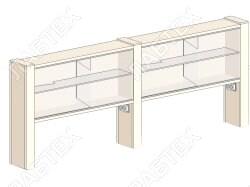 Надстройка для стола ЛАБТЕХ-ШН-3 (НС-3)