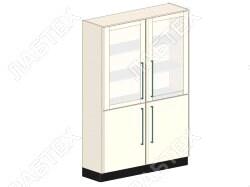 Шкаф для хранения ЛАБТЕХ Профи-6 лабораторный металлический, 1200*500*1900