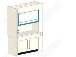 Шкаф вытяжной лабораторный ЛАБТЕХ ШВП-1А