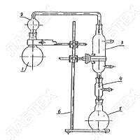 Прибор для определения фенола в воде 1.0 л, со штативом