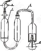 Прибор для определения серы ламповым методом