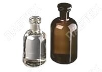 Банка для реактивов 1000 мл (темное стекло, узкое горло) KLIN