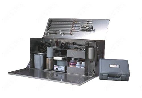 Набор для тестирования растворов на нефтяной основе, модель 866 (арт. 210412)